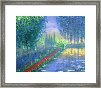 An Artist's Garden Framed Print