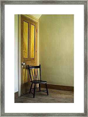 Framed Print featuring the photograph An Austere Life by Chuck De La Rosa