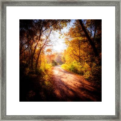 An Autumn Invitation Framed Print