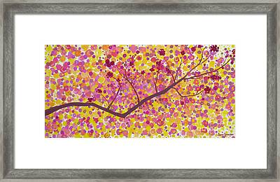 An Autumn Moment Framed Print by Stacey Zimmerman