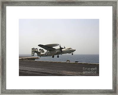 An E-2c Hawkeye Takes Framed Print by Stocktrek Images