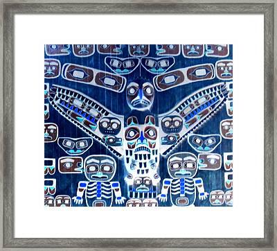 An Eagle Among Men Framed Print