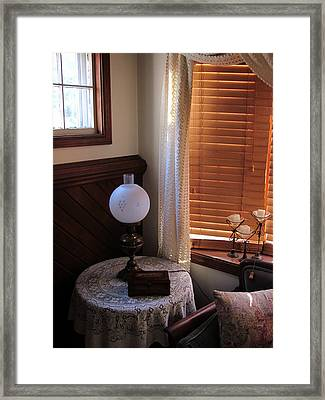 An Elegant Nook Framed Print by Guy Ricketts