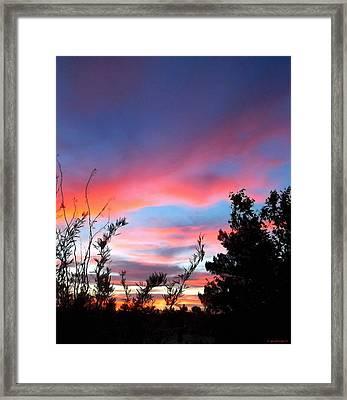 An Endless Summer Sky Framed Print by Glenn McCarthy Art and Photography