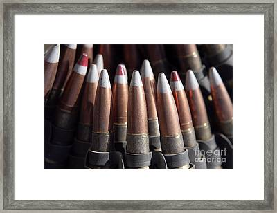 An Even Mix Of Four Ball Rounds To One Framed Print by Stocktrek Images