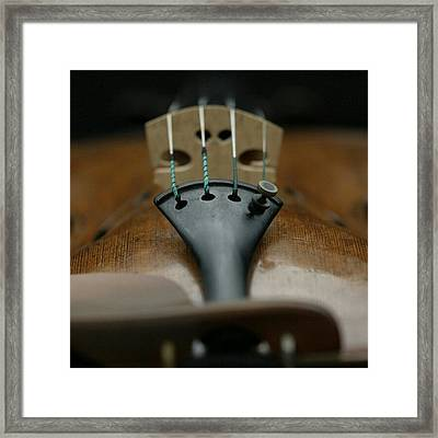 An Expensive #strad Violin Framed Print