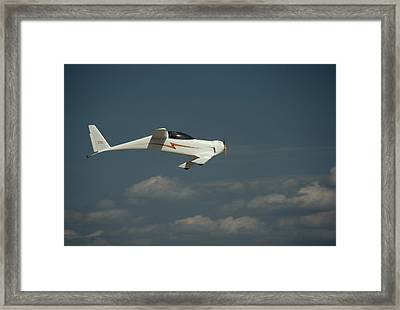 An Experimental Aircraft, The Quickie Framed Print by Micheal E. Long