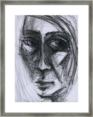 An Expression Framed Print