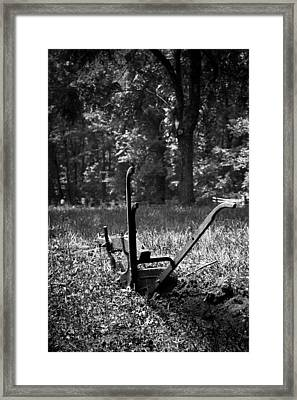 An Honest Day's Work Framed Print