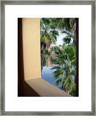 Framed Print featuring the photograph An Imposing View by Frank Wickham