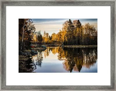 Framed Print featuring the photograph An Island by Matti Ollikainen