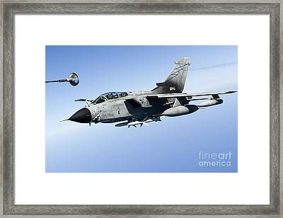 An Italian Air Force Tornado Ids Framed Print by Gert Kromhout