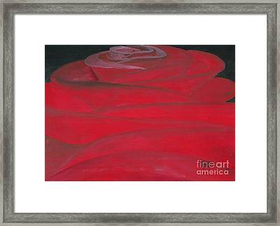 An Odd Rose... Framed Print by Robert Meszaros