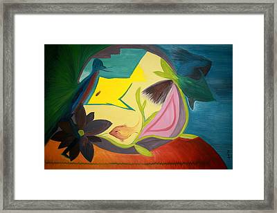 An Open Room Framed Print