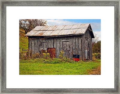 An Orderly World Framed Print by Steve Harrington