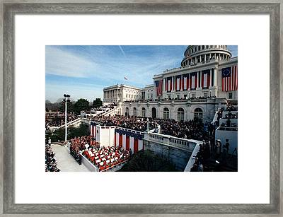 An Overview Of The 1981 Reagan Framed Print