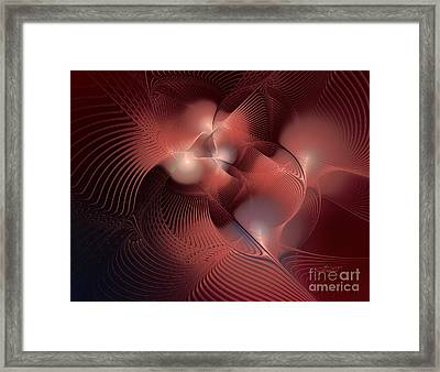 Analysis Framed Print by Jutta Maria Pusl
