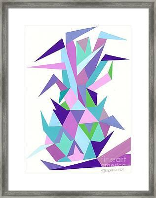 Ananas No.4 Framed Print by Roswitha Schmuecker