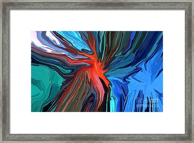 Anarchy Framed Print by Chris Butler