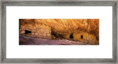 Anasazi Ruin Framed Print