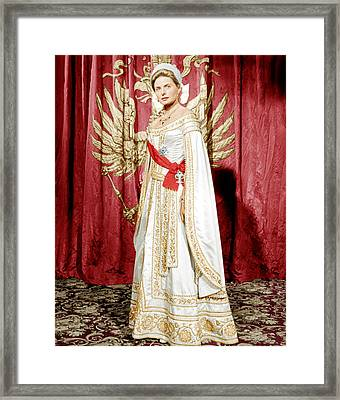 Anastasia,  Ingrid Bergman, 1956 Framed Print by Everett