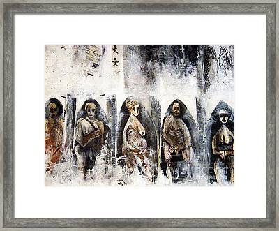 Ancestors Chamber Framed Print by Robert Daniels