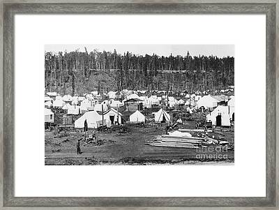Anchorage, Alaska In 1915 Framed Print by Photo Researchers