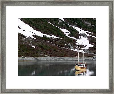 Anchorage Perfection Framed Print