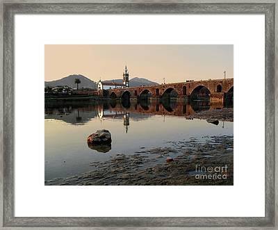 Ancient Bridge Framed Print by Carlos Caetano