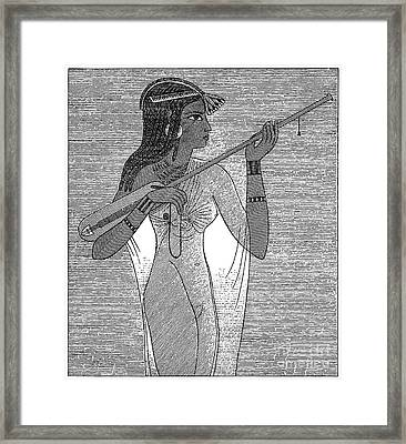 Ancient Egypt: Music Framed Print