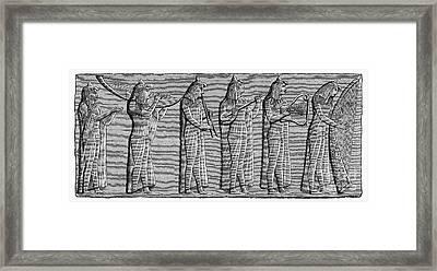 Ancient Egypt: Musicians Framed Print