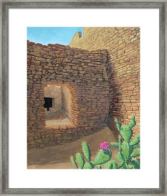 Ancient Flower Framed Print by Michael Cranford