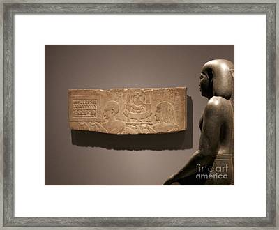 Ancient Memories Framed Print by James Knights