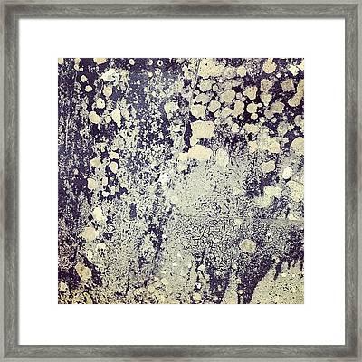 Ancient Metal Framed Print