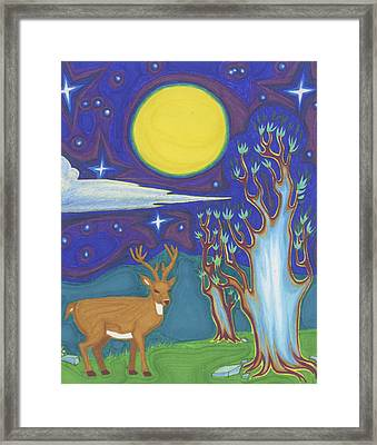 Ancient Night Framed Print by James Davidson