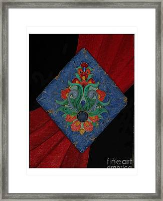 Ancient Of Persian Framed Print