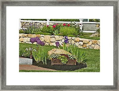 Ancient Pot Display Framed Print