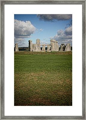 Ancient Stones Framed Print by Heather Applegate