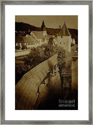 Ancient Surroundings Framed Print by Heiko Koehrer-Wagner