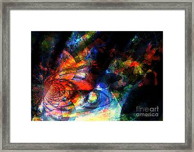 Ancient Times Framed Print by Fania Simon