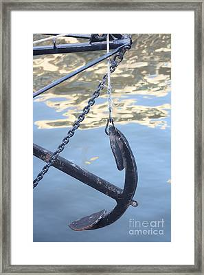 Ancorage Framed Print by Rogerio Mariani