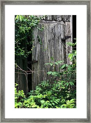 And Behind Door Number Two Framed Print by JC Findley