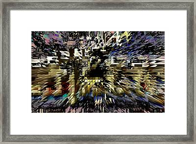 And Everything Changed  Framed Print by Ruth Edward Anderson