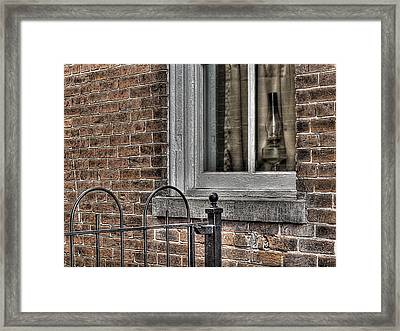 And Half A Broom Framed Print by William Fields