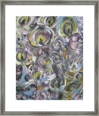 And I Danced Framed Print by Julia Rita Theriault