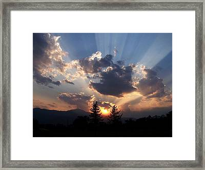And In The End Framed Print