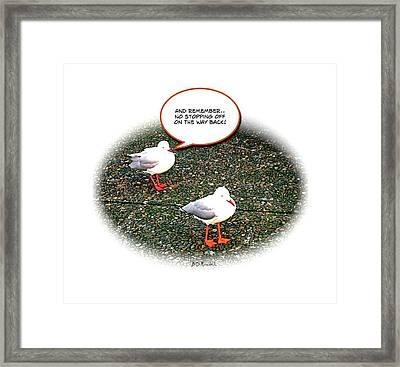 And Remember Framed Print by Brian D Meredith