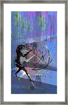 And Singing In The Rain Framed Print by Tony Marquez