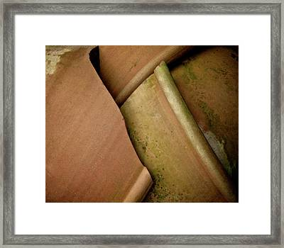 And The Potter Screamed Framed Print