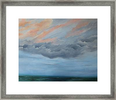 And Then It Rained Framed Print by Rosie Brown